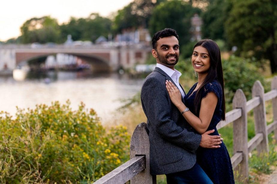 Hampton Court Palace Engagement shoot | Proposal shoot