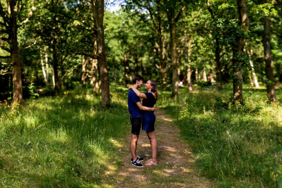 Richmond Park Engagement shoot | Surrey Wedding Photographer
