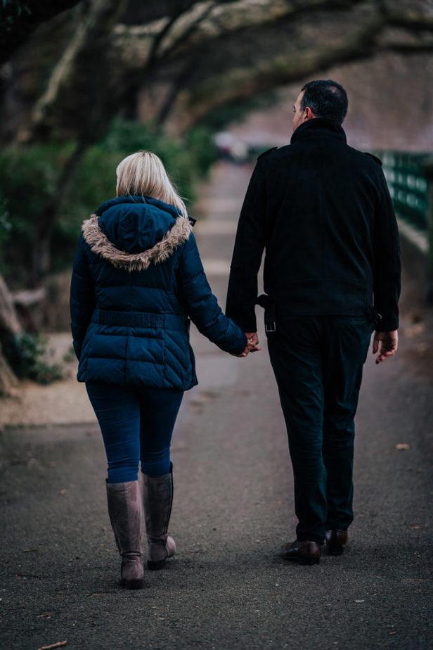 Fulham FC Engagement Shoot Photographer | London Wedding Photographer