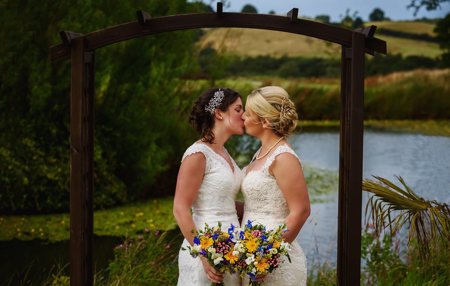 same sex couple gorgeous moment captured by Alex Buckland Photography