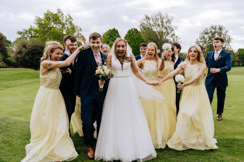coombe wood golf course wedding photographer
