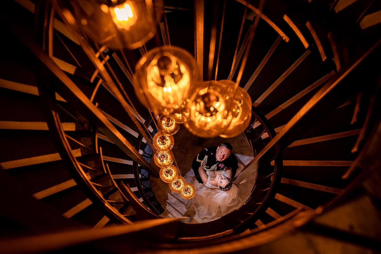 award winning wedding photo of bride and groom