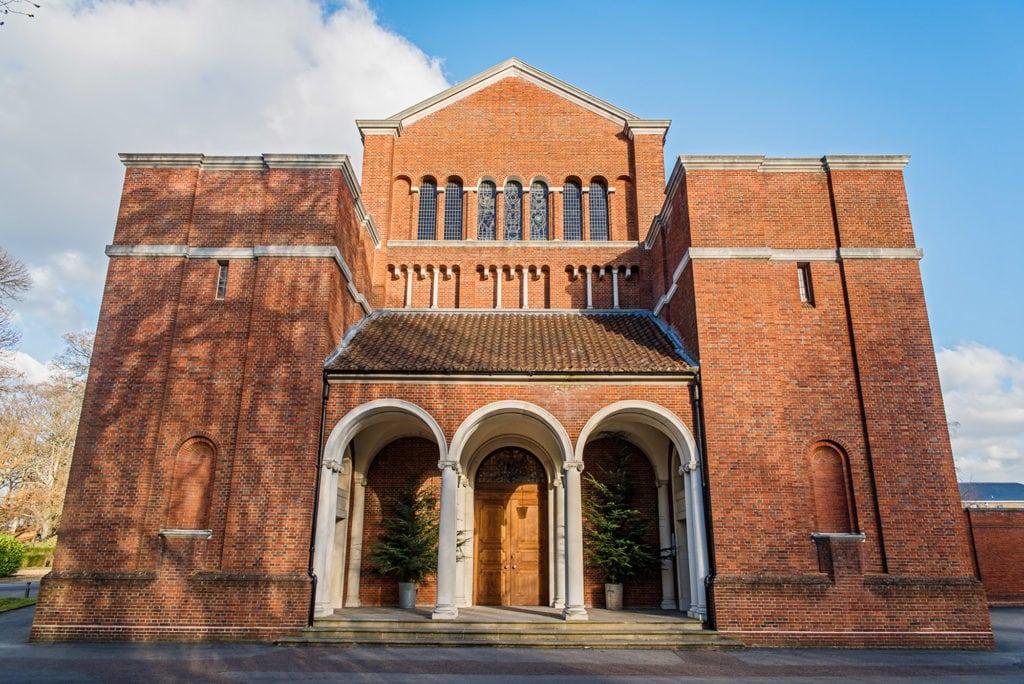 Royal Memorial Chapel at RMAS Sandhurst