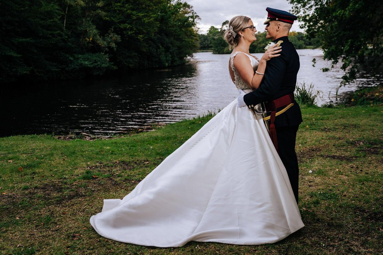 army officer wedding celebrations at RMA Sandhurst