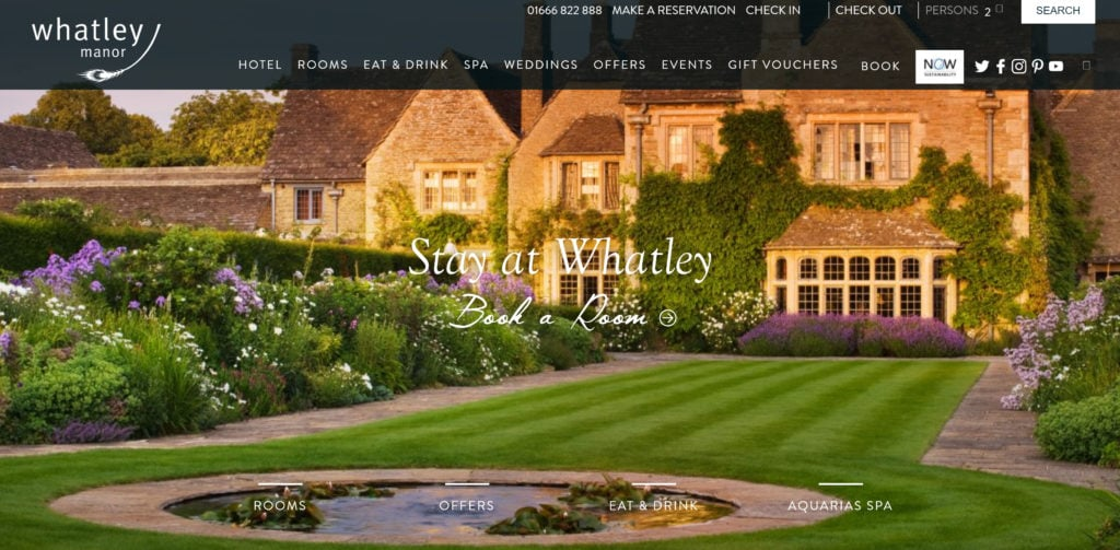 Whatley Manor Hotel and Spa - Manor House Country Hotel