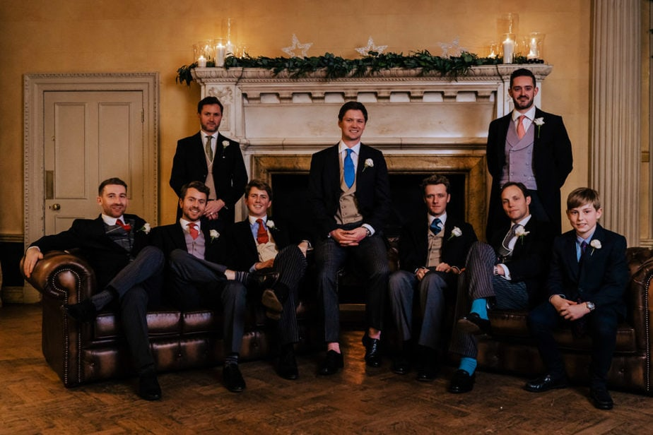 Hampton Court House Winter Wedding   Surrey Wedding Photographer