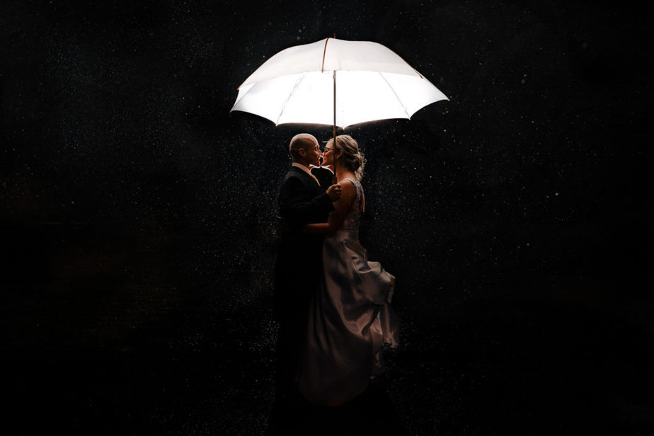 award winning portrait of military bride and groom