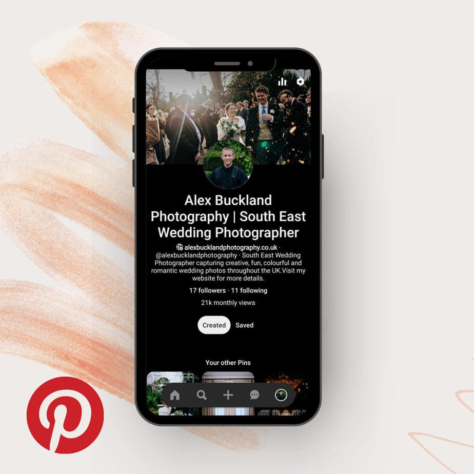 Pinterest | a great app for creating a mood board for your wedding