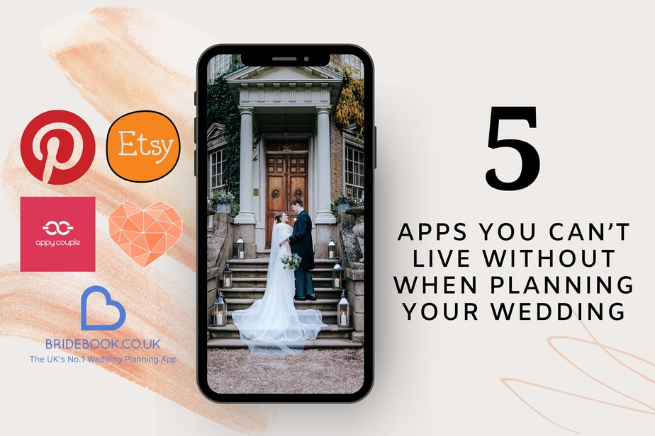 5 apps you can't live without when planning your wedding
