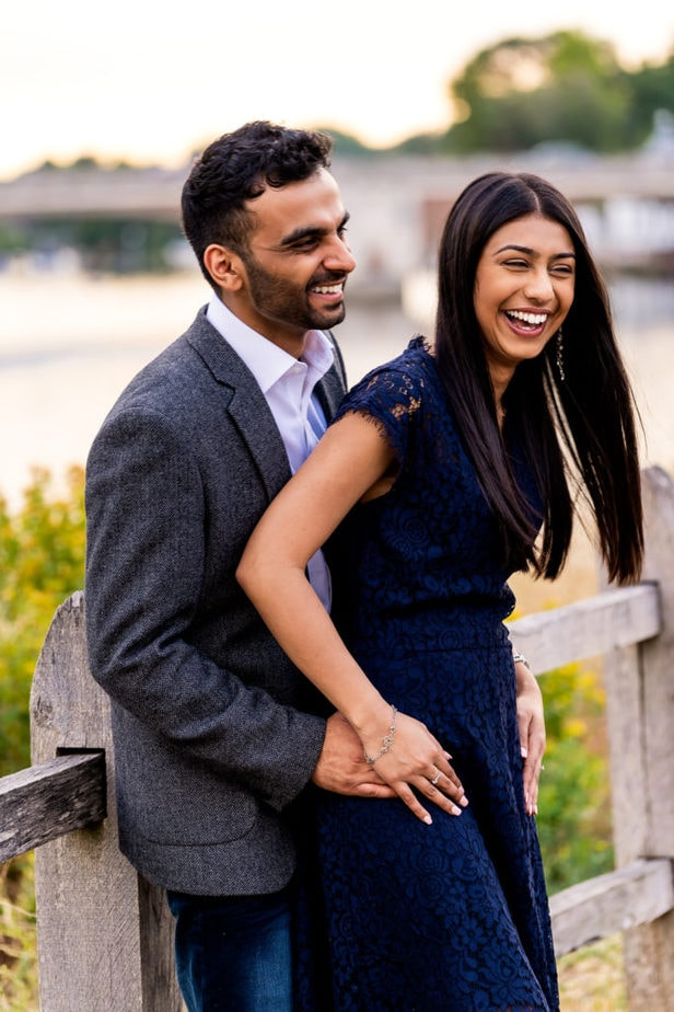 proposal shoot on the River Thames in surrey