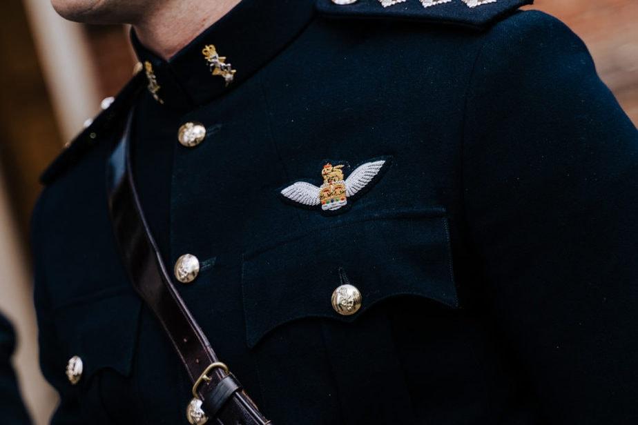 military guard of honour uniform