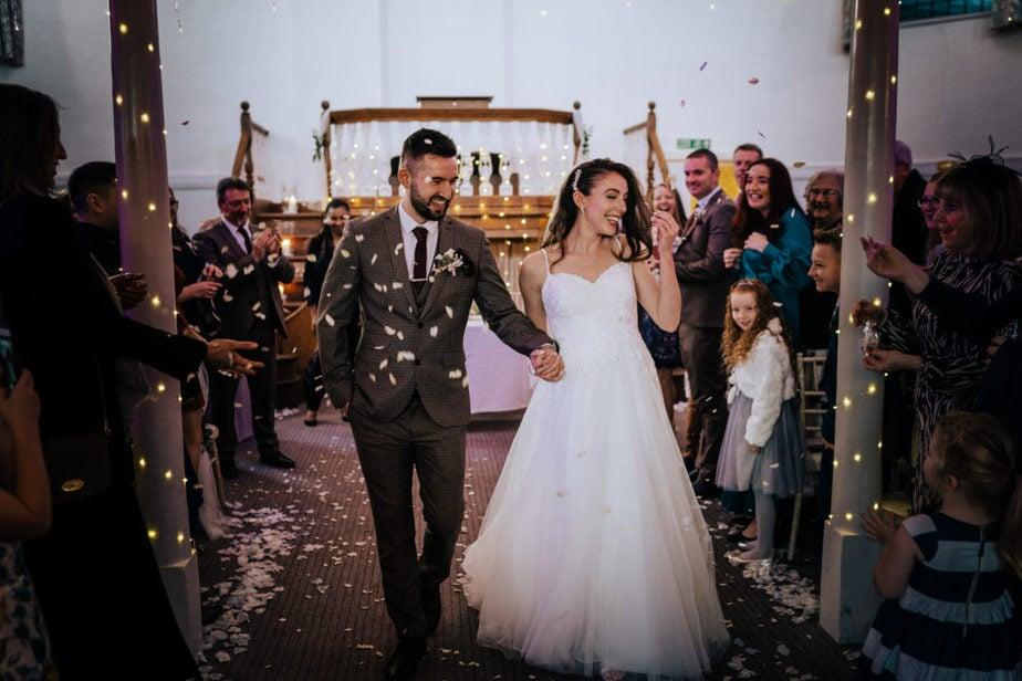 Wedding Dress - Wedding reception