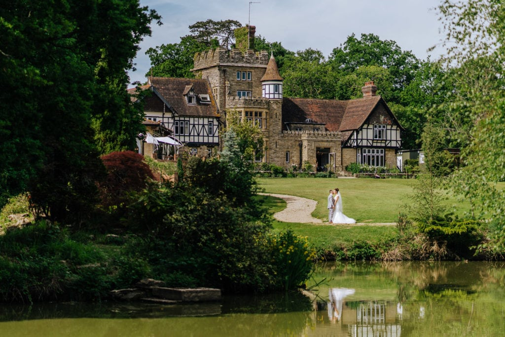 English country house - House